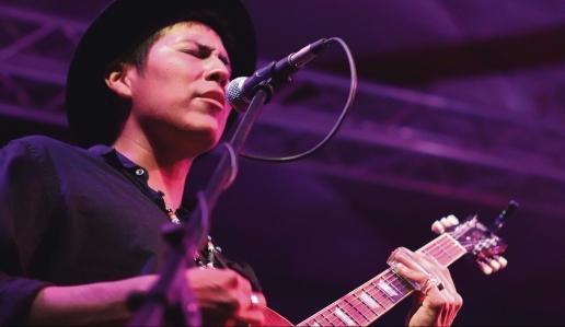 Katharine Egli Native blues artist Levi Platero
